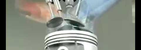 Funcionamento de un motor de 4 tiempos conHHO-Hidrogeno