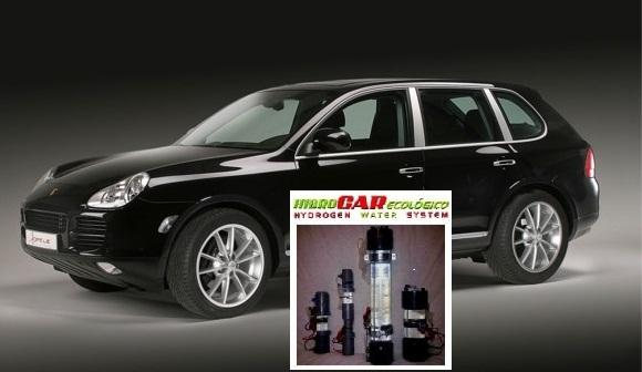 HIDROCAR ECOLOGICO reduce el consumo un 50% en PorscheCAYENNE