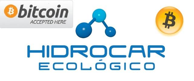 HIDROCAR ECOLOGICO acepta BITCOIN como medio de pago