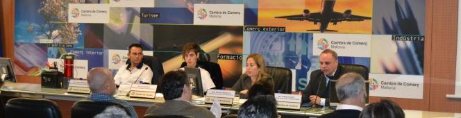 Presentación de HIDROCAR ECOLOGICO en la Cámara de Comercio deMallorca